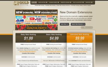 sk gold hosting